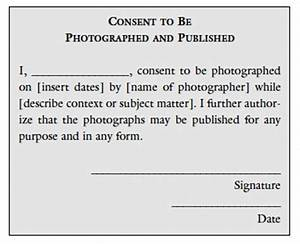 photography permission form template - the role of permission in photography educational