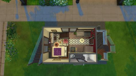 sims  small house ideas modern house plan modern