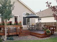 fine home depot patio design ideas High Quality House Deck Plans #8 Patio Deck Designs Plans ...