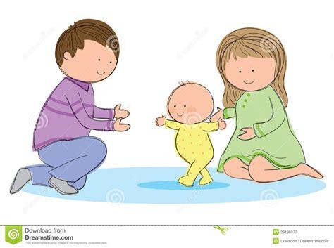walk walking clipart learn toddler bambino camminata lopen het vector