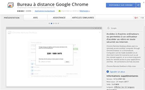 chrome bureau a distance trois applications pour contr 244 ler votre ordinateur 224 distance