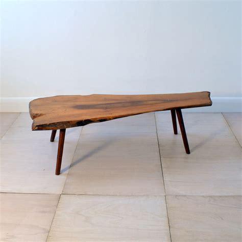Reclaimed wood coffee table by brockley bespoke. ORGANIC WOODEN COFFEE TABLE