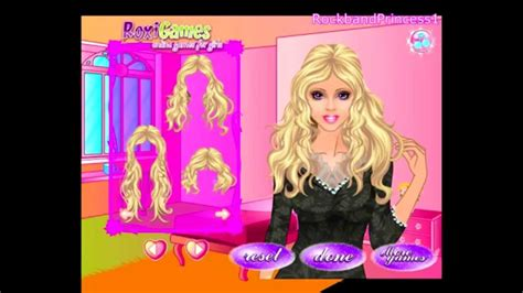 Barbie Dress Up Makeup And Hairstyle Games Online