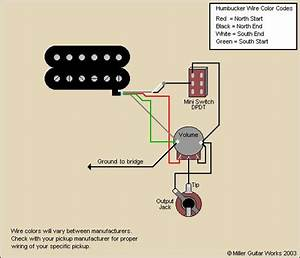 Guitar Wiring Diagram Coil Tap