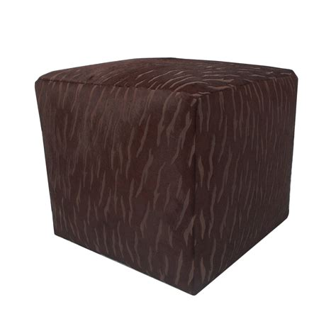 Cowhide Cube Ottoman by Cube Cowhide Ottoman Rentals Event Trade Show Rental