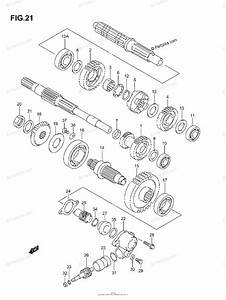 Suzuki Atv 2005 Oem Parts Diagram For Transmission  2