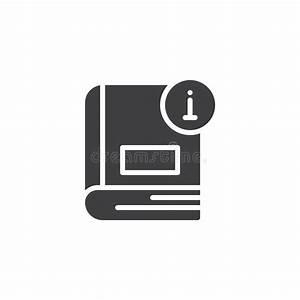 Vector Icon Of Information Book Stock Vector