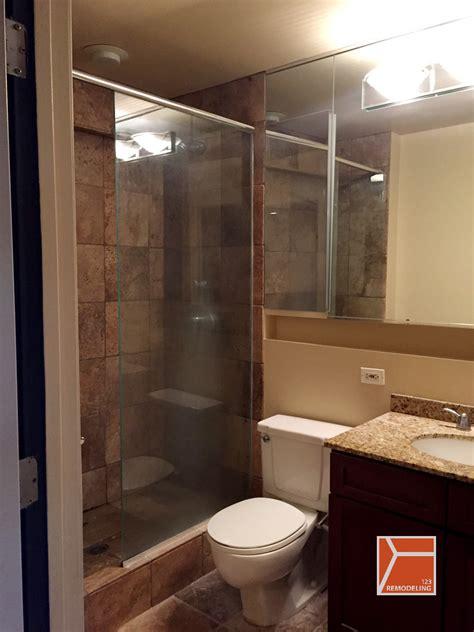 condo bathroom remodel at 40 e 9th st south loop 123