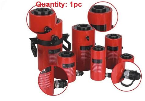 20t,100mm Electric Hydraulic Jack With Center Hollow