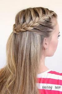 How To Make French Braid Hairstyle Tutorials The Perfect DIY