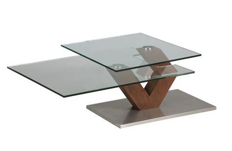 chaise noir conforama table basse en verre et bois et plateau pivotant 1265
