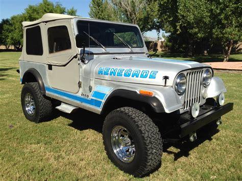 renegade jeep cj7 1984 jeep cj7 renegade the jeep farm