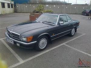 Mercedes W 107 : mercedes 300 sl w107 auto 1987 black cream leather mint ~ Jslefanu.com Haus und Dekorationen