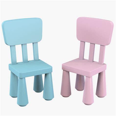 Ikea Mammut Stuhl by 3d Ikea Mammut Children Chair Model