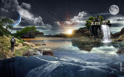 Download Cgi Surreal Wallpaper 1920x1200  Wallpoper #221862