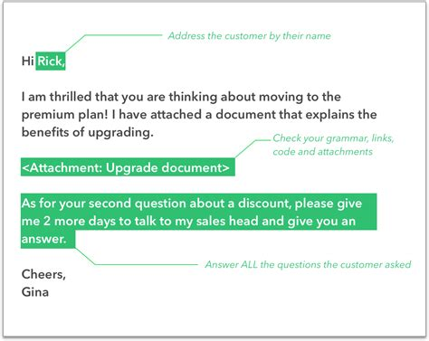 Customer Support Email Template by Customer Support Email Template Image Collection
