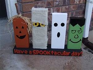 Someday Crafts Halloween 2x4 s