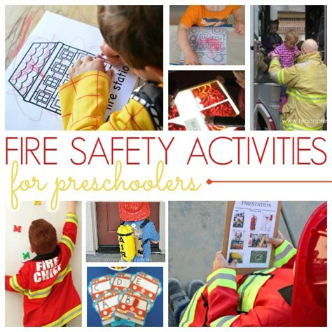 preschool activities for a safety theme pre k pages 940 | Fire Safety Activities for Preschoolers