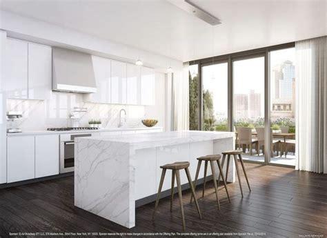 Modern White Marble Kitchen Pinterest  Tierra Este  #86726