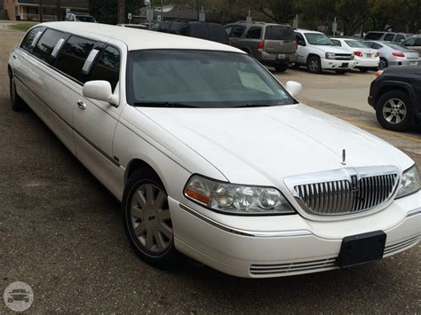 Stretch Limousine Rental by White Lincoln Stretch Limousine Baton Limo Rental