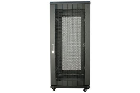 24u server rack cabinet 19 quot equipment network black