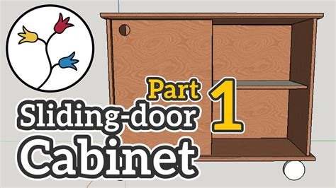 how do you make kitchen cabinets you can make a cabinet with sliding doors part 1 of 2 8442