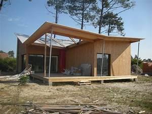 Ossature Bois Maison : maison ossature bois atout charpente ~ Melissatoandfro.com Idées de Décoration