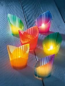 Papier Auf Glas Kleben : windlicht glas basteln kinder wohn design ~ Watch28wear.com Haus und Dekorationen