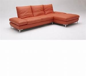 dreamfurniturecom dahlia 1307 orange sectional sofa set With orange sectional sofa