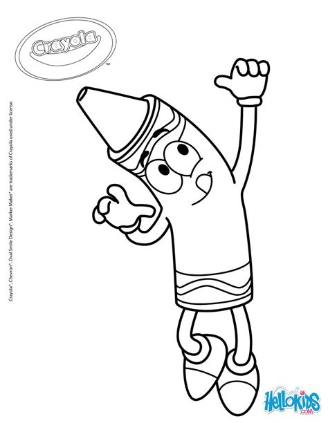 crayola coloring pages getcoloringpagescom
