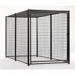 shop akc 5x10 probreeder welded wire kennel with cover at With 5x10 dog kennel cover