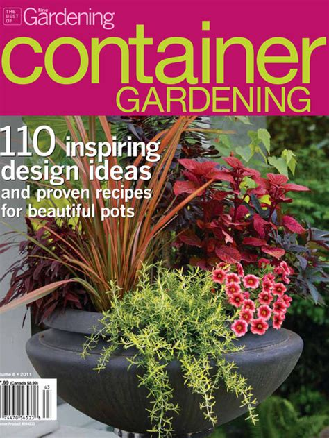 container gardening magazine project