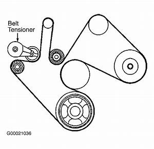 2002 Duramax Serpentine Belt Diagram
