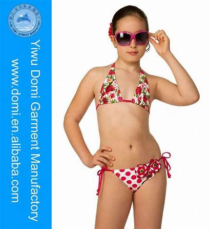 Swimwear Alibaba Models Tween Newest Bikini Young
