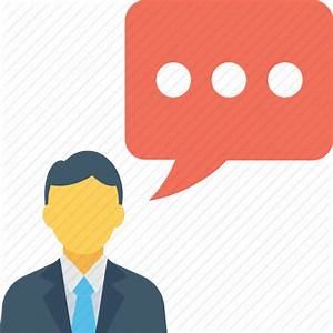 Person, speaking, speech bubble, talking, user icon