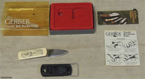 gerber phone number gerber touche slimline belt buckle knife quot landing ducks