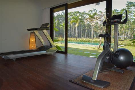 cing avec salle de fitness villa lumia ubud bali salle de sport