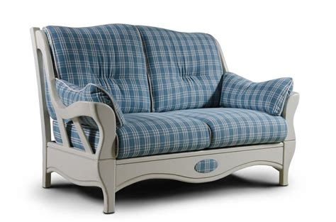 Twoseater Sofa, Country Style Idfdesign