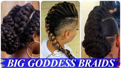 Top 20 Amazing African American Goddess Braids Hairstyles