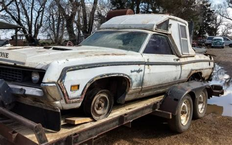 amazing custom  ford ranchero squire
