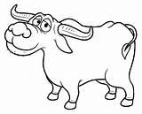 Buffalo Cartoon Coloring Pages Carabao Kalabaw Clipart Drawing Illustration Bills Vector Getcolorings Depositphotos Printable Water Getdrawings Illustrations sketch template