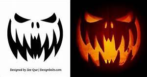 free, printable, scary, pumpkin, templates, , u2013, jurjur