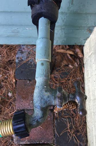 plumbing   remove stuck exterior faucets home improvement stack exchange