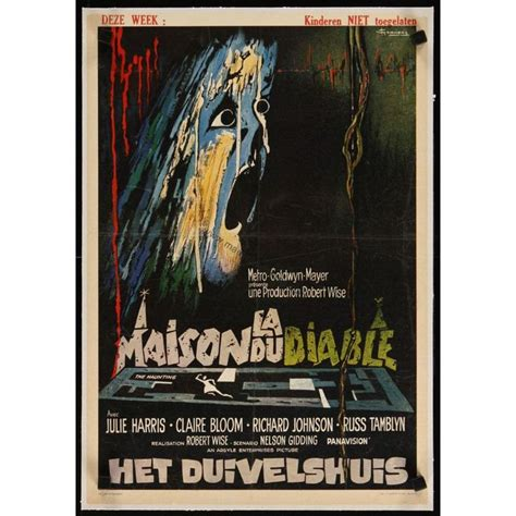la maison du diable quot la maison du diable quot robert wise 1963 flippante non awesome posters