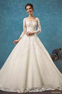 amelia sposa 2017 wedding dresses wedding inspirasi With wedding dresses with sleeves 2017