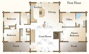 floor plans for cabins the richmond log home floor plans nh custom log homes gooch real log homes