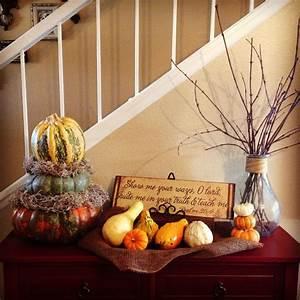 Fall, Decor, Pumpkins, Harvest, Decor, Thanksgiving