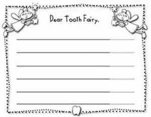 tooth fairy lined paper free writing assignment for you