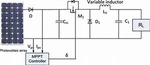 Schematic Diagram Of Variable Inductor Control Of Mppt