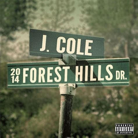 J Cole Forest Hills Drive Cover by Jcole Apparently Tumblr